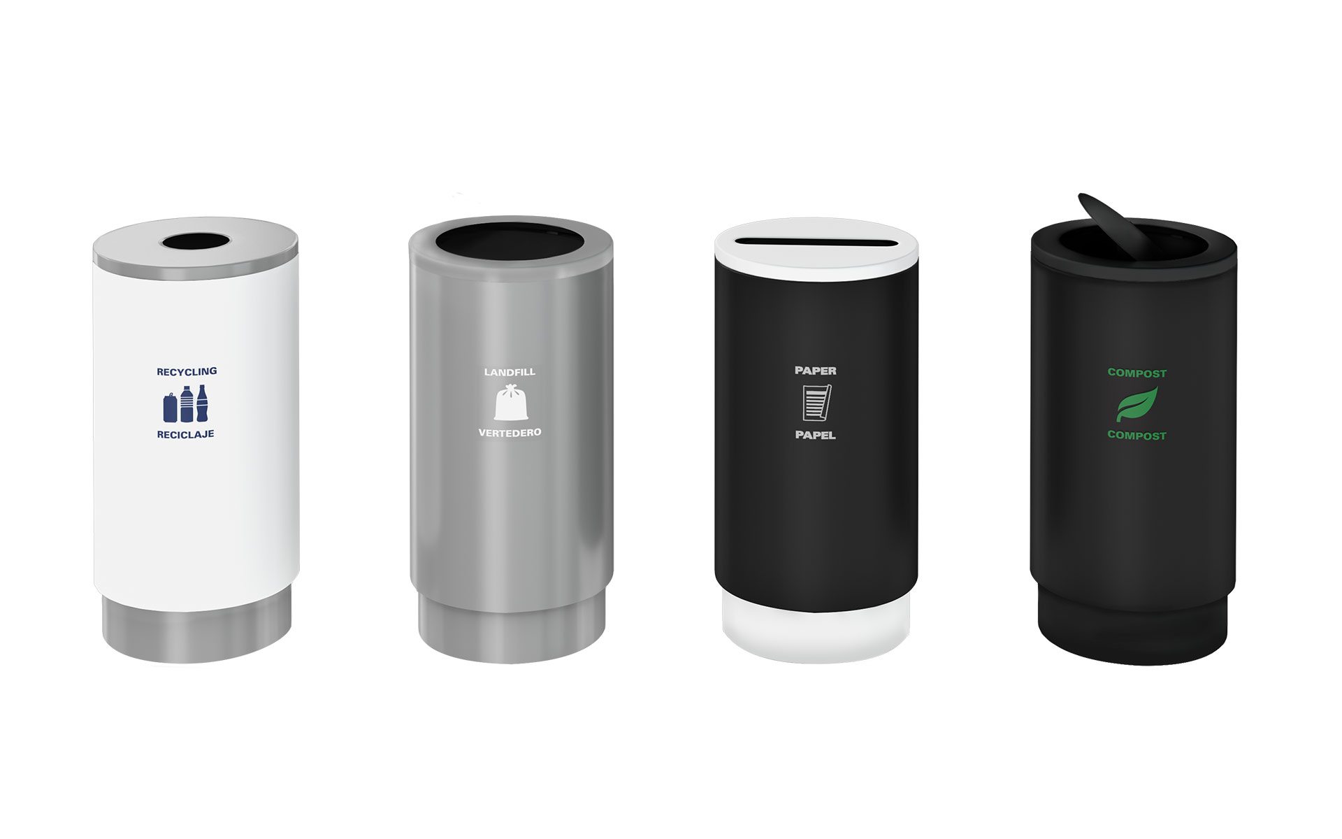 Cirkel Waste Receptacles