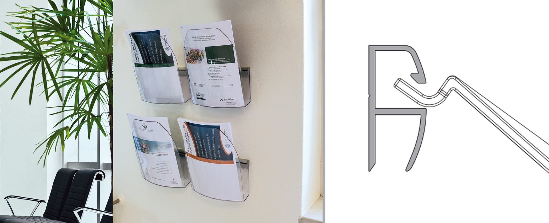 DACAPO Brochure & Leaflet Holders