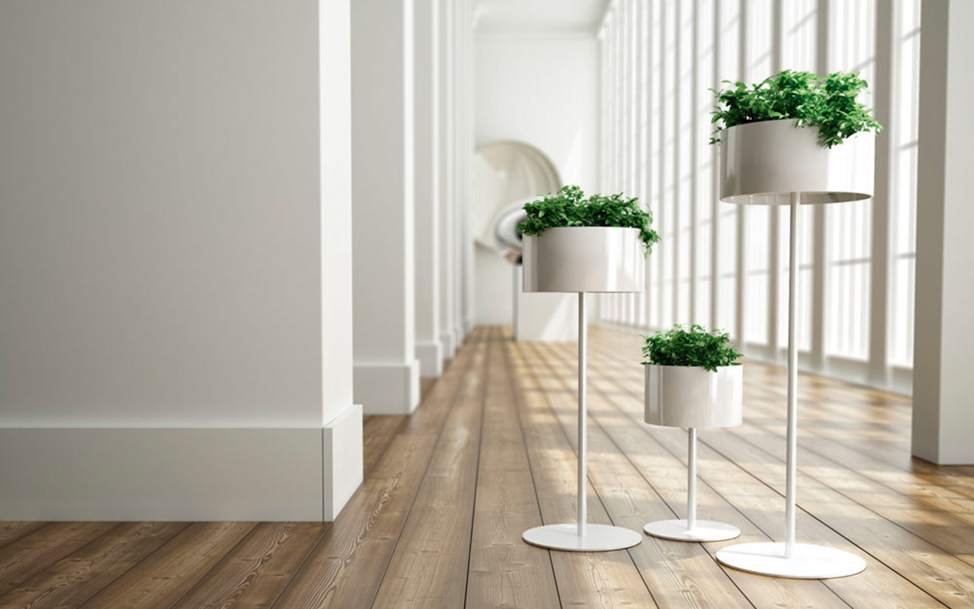 Green Cloud Planters