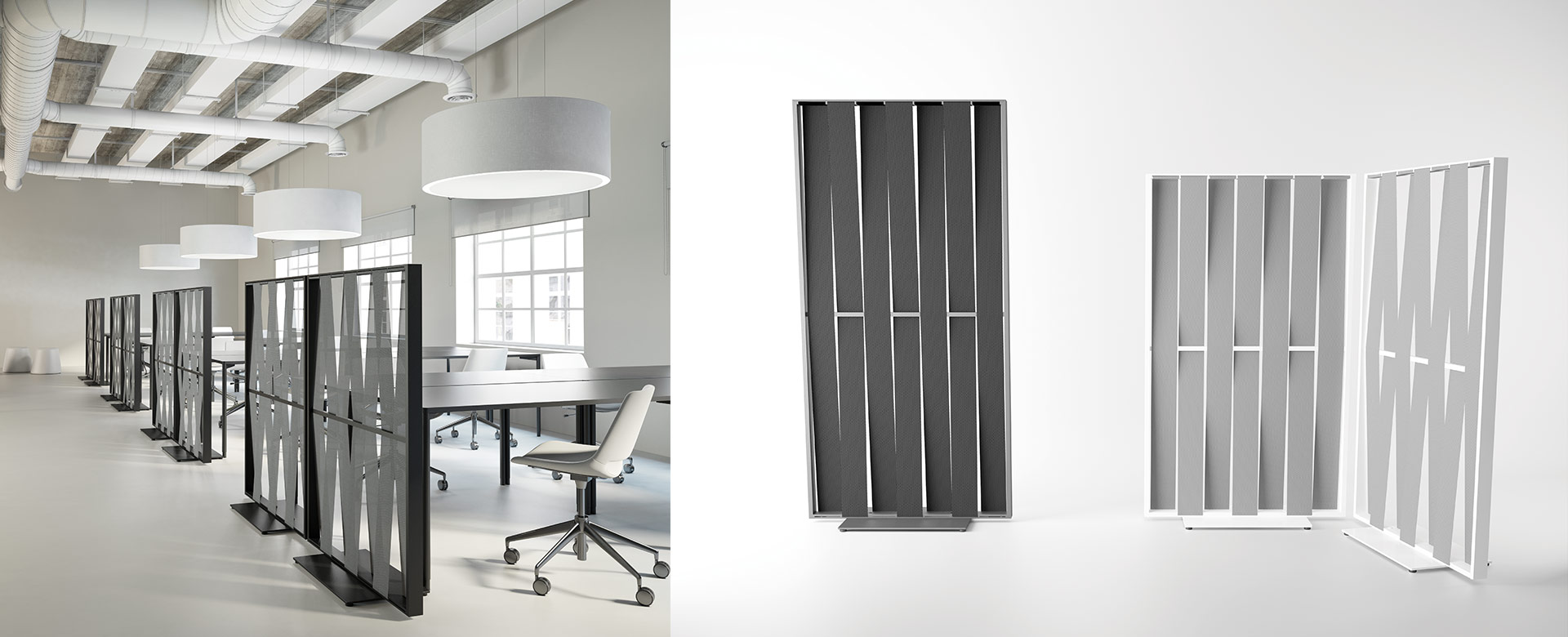 Malva Moveable Screens