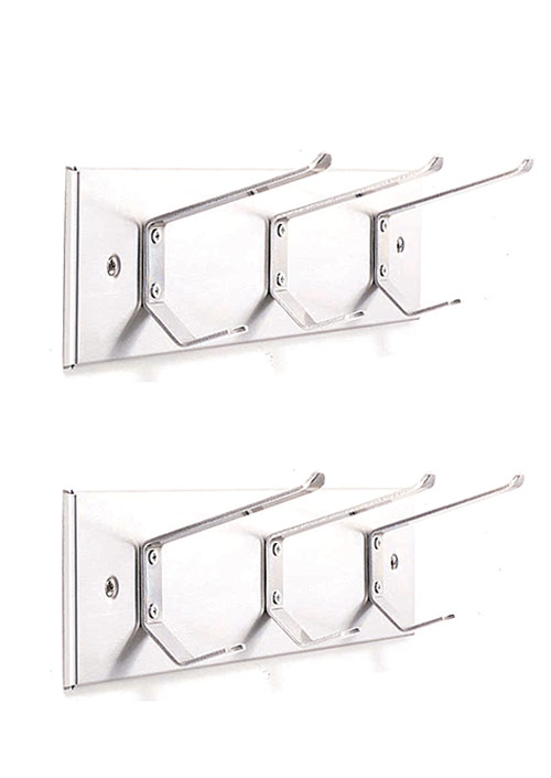 Stainless Steel Series Coat Hook Strips