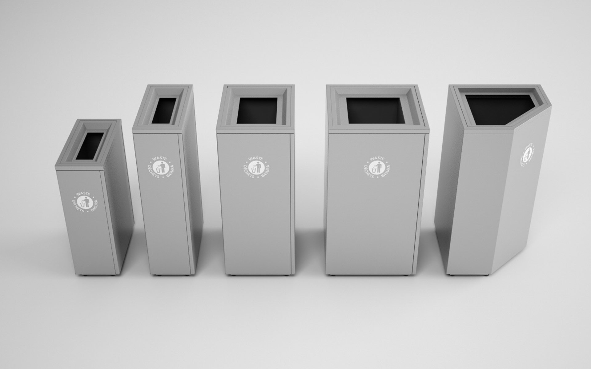 Valuta Waste Receptacles