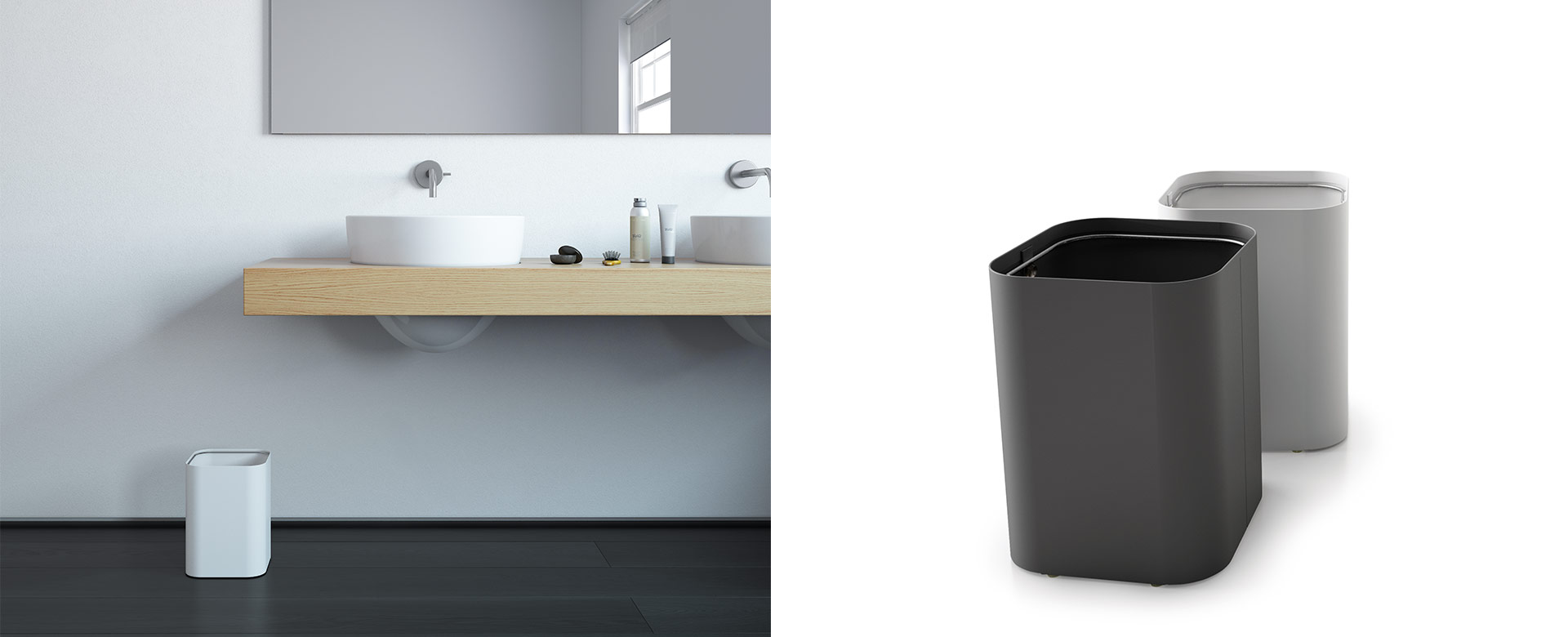 Drop Mini Waste Receptacles