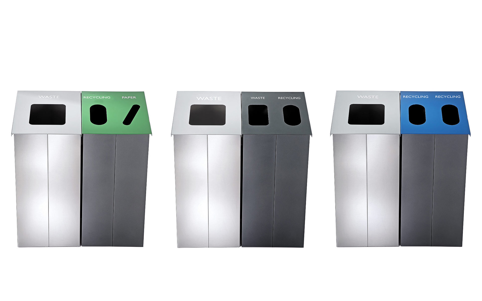 Slope Waste Receptacles