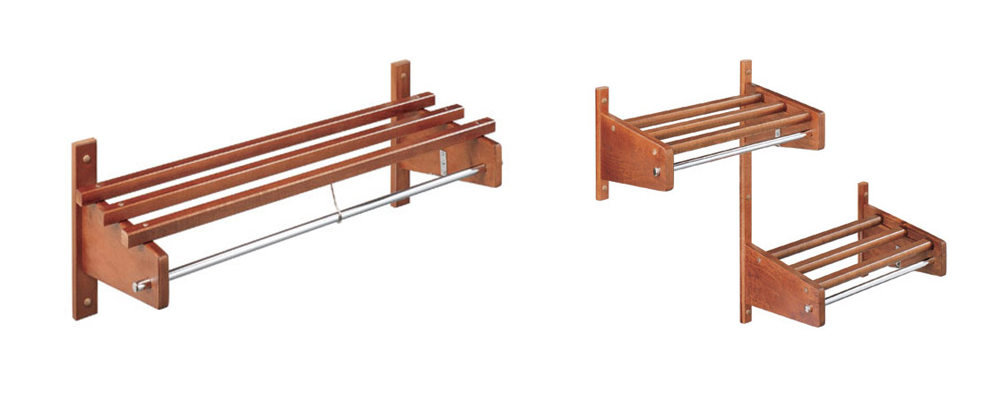 Wood Hospitality Coat Racks