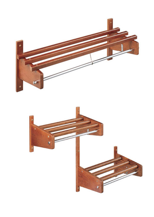 MC-HWA Wood Hospitality Racks